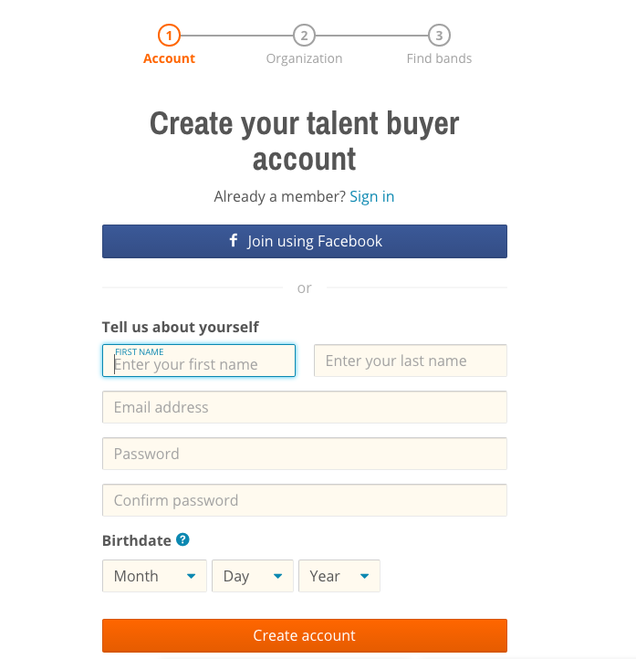 Create Your Promoter Profile – Sonicbids Support
